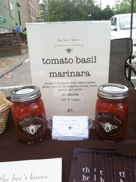 tomato basil marinara