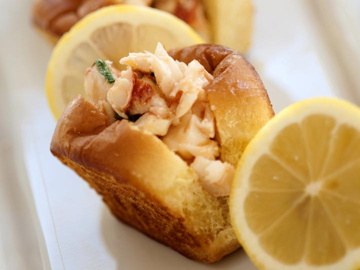 Petite Lobster Rolls - The Bee's Knees Catering